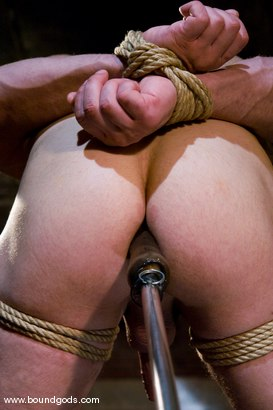 Photo number 13 from The Straight Bodybuilder shot for Bound Gods on Kink.com. Featuring Van Darkholme and Nick Armani in hardcore BDSM & Fetish porn.