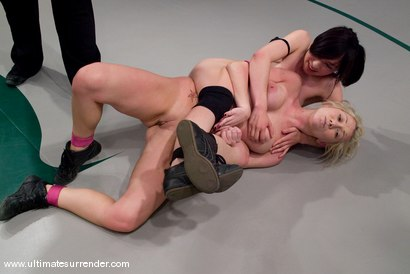 Photo number 11 from SUMMER VENGEANCE CONTINUES! <BR>This is the second elimination match <br>of the second round. shot for Ultimate Surrender on Kink.com. Featuring Brix and Samantha Sin in hardcore BDSM & Fetish porn.