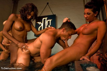 Photo number 7 from Road Trip day 4 shot for TS Seduction on Kink.com. Featuring Natassia Dreams, Ariel Everitts, Jessica Host, Lobo and Jesse in hardcore BDSM & Fetish porn.