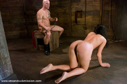 Photo number 9 from Ashli Orion shot for Sex And Submission on Kink.com. Featuring Derrick Pierce and Ashli  Orion in hardcore BDSM & Fetish porn.