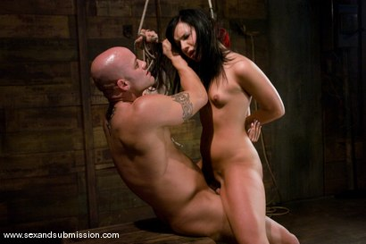 Photo number 8 from Ashli Orion shot for Sex And Submission on Kink.com. Featuring Derrick Pierce and Ashli  Orion in hardcore BDSM & Fetish porn.