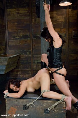 Photo number 6 from Slut Squirted On. shot for Whipped Ass on Kink.com. Featuring LeiLani Li and Isis Love in hardcore BDSM & Fetish porn.