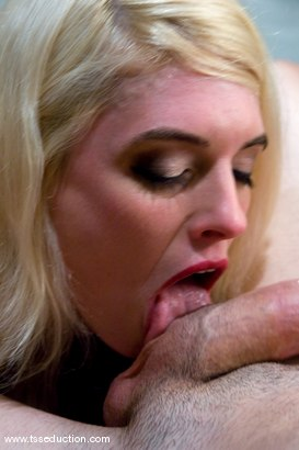 Photo number 5 from Mandy Mitchell seduces, binds and fucks Omar <br>in the mouth and ass. shot for TS Seduction on Kink.com. Featuring Mandy Mitchell and Omar in hardcore BDSM & Fetish porn.