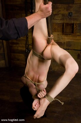 Photo number 7 from Welcome Amie to Hogtied<br> We love hot flexible college students. shot for Hogtied on Kink.com. Featuring Sgt. Major and Amie in hardcore BDSM & Fetish porn.