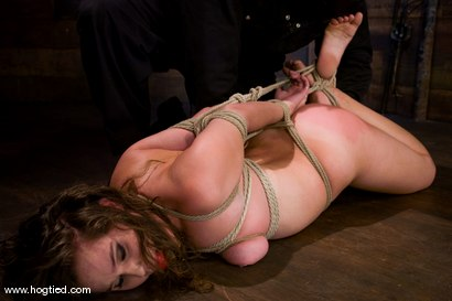 Photo number 6 from Welcome Charlotte Vale<br>to Hogtied! shot for Hogtied on Kink.com. Featuring Sgt. Major and Charlotte Vale in hardcore BDSM & Fetish porn.