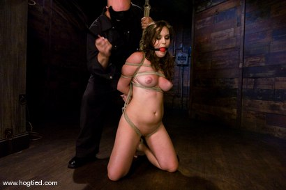 Photo number 8 from Welcome Charlotte Vale<br>to Hogtied! shot for Hogtied on Kink.com. Featuring Sgt. Major and Charlotte Vale in hardcore BDSM & Fetish porn.