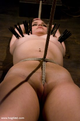 Photo number 15 from Welcome Charlotte Vale<br>to Hogtied! shot for Hogtied on Kink.com. Featuring Sgt. Major and Charlotte Vale in hardcore BDSM & Fetish porn.