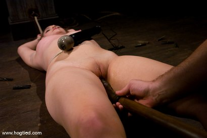Photo number 10 from Welcome Charlotte Vale<br>to Hogtied! shot for Hogtied on Kink.com. Featuring Sgt. Major and Charlotte Vale in hardcore BDSM & Fetish porn.