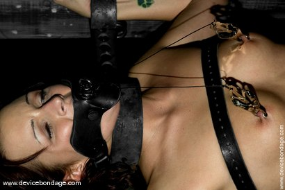 Photo number 4 from Pole Position shot for Device Bondage on Kink.com. Featuring Sgt. Major and Sara Faye in hardcore BDSM & Fetish porn.