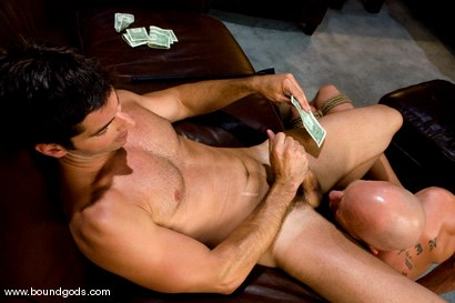 Photo number 7 from The Cat Burglar and His Prey shot for Bound Gods on Kink.com. Featuring Chad Rock and Luka in hardcore BDSM & Fetish porn.