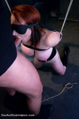 Photo number 5 from Submission of Kylie Ireland shot for Sex And Submission on Kink.com. Featuring Mark Davis and Kylie Ireland in hardcore BDSM & Fetish porn.