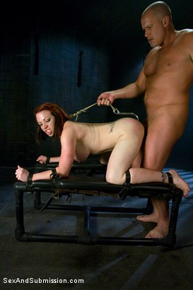 Photo number 9 from Submission of Kylie Ireland shot for Sex And Submission on Kink.com. Featuring Mark Davis and Kylie Ireland in hardcore BDSM & Fetish porn.