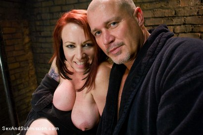 Photo number 15 from Submission of Kylie Ireland shot for Sex And Submission on Kink.com. Featuring Mark Davis and Kylie Ireland in hardcore BDSM & Fetish porn.