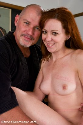 Photo number 15 from A For Anal shot for Sex And Submission on Kink.com. Featuring Mark Davis and Trinity Post in hardcore BDSM & Fetish porn.
