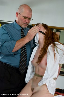 Photo number 6 from A For Anal shot for Sex And Submission on Kink.com. Featuring Mark Davis and Trinity Post in hardcore BDSM & Fetish porn.
