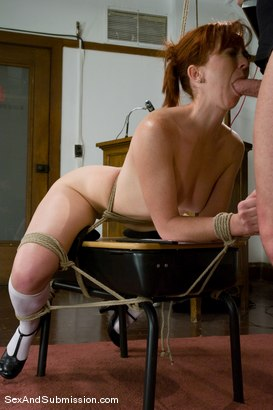 Photo number 10 from A For Anal shot for Sex And Submission on Kink.com. Featuring Mark Davis and Trinity Post in hardcore BDSM & Fetish porn.