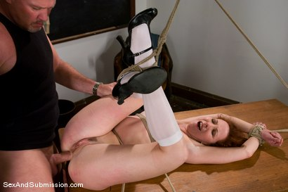 Photo number 14 from A For Anal shot for Sex And Submission on Kink.com. Featuring Mark Davis and Trinity Post in hardcore BDSM & Fetish porn.