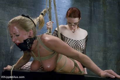 Photo number 12 from Dia Zerva shot for Whipped Ass on Kink.com. Featuring Claire Adams and Dia Zerva in hardcore BDSM & Fetish porn.