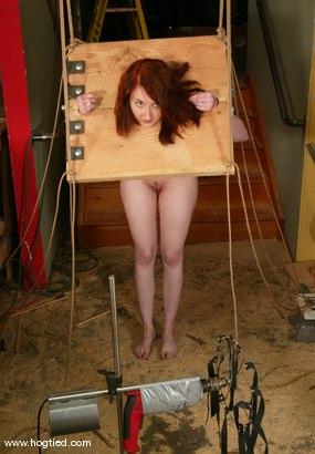 Photo number 4 from Kendra James shot for Hogtied on Kink.com. Featuring Kendra James in hardcore BDSM & Fetish porn.