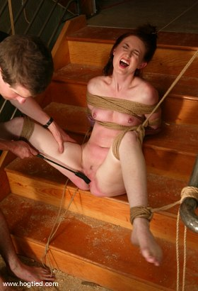Photo number 2 from Kendra James shot for Hogtied on Kink.com. Featuring Kendra James in hardcore BDSM & Fetish porn.