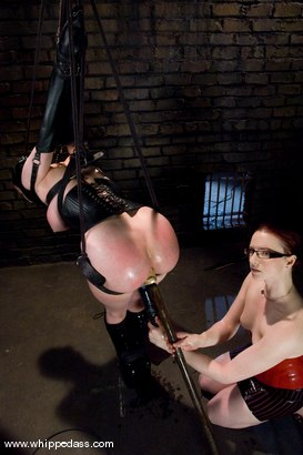 Photo number 8 from Cherry Torn shot for Whipped Ass on Kink.com. Featuring Claire Adams and Cherry Torn in hardcore BDSM & Fetish porn.