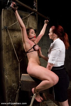 Photo number 8 from Charlotte Vale shot for Whipped Ass on Kink.com. Featuring Claire Adams and Charlotte Vale in hardcore BDSM & Fetish porn.