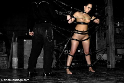 Photo number 5 from Chinese Chair shot for Device Bondage on Kink.com. Featuring Alexa Von Tess and Damon Pierce in hardcore BDSM & Fetish porn.