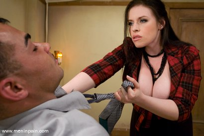 Photo number 1 from Your Boss is Your Bitch Now shot for Men In Pain on Kink.com. Featuring Rico and Daphne Rosen in hardcore BDSM & Fetish porn.