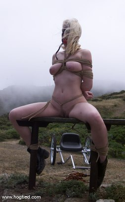 Photo number 9 from Cowgirl shot for Hogtied on Kink.com. Featuring Cowgirl in hardcore BDSM & Fetish porn.
