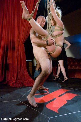 Photo number 14 from Samantha Sin fucked in front of live audience shot for Public Disgrace on Kink.com. Featuring Claire Adams and Samantha Sin in hardcore BDSM & Fetish porn.