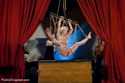 Photo number 12 from Samantha Sin fucked in front of live audience shot for Public Disgrace on Kink.com. Featuring Claire Adams and Samantha Sin in hardcore BDSM & Fetish porn.