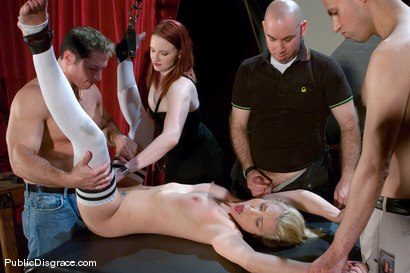 Photo number 9 from Samantha Sin fucked in front of live audience shot for Public Disgrace on Kink.com. Featuring Claire Adams and Samantha Sin in hardcore BDSM & Fetish porn.