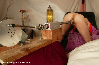 Photo number 7 from Khadija shot for Fucking Machines on Kink.com. Featuring Khadija in hardcore BDSM & Fetish porn.