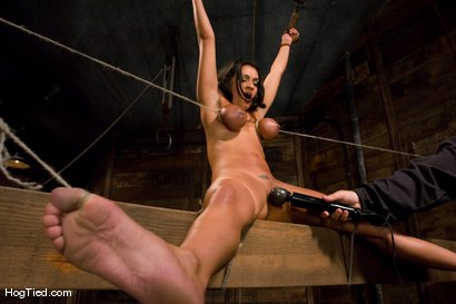 Photo number 9 from Charley Chase in her very first Hogtied shoot shot for Hogtied on Kink.com. Featuring Charley Chase in hardcore BDSM & Fetish porn.