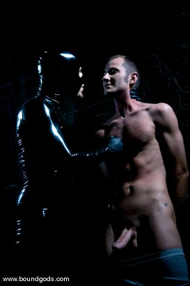 Photo number 1 from Hungry Like the Wolf shot for Bound Gods on Kink.com. Featuring Nomad and Wolf Hudson in hardcore BDSM & Fetish porn.