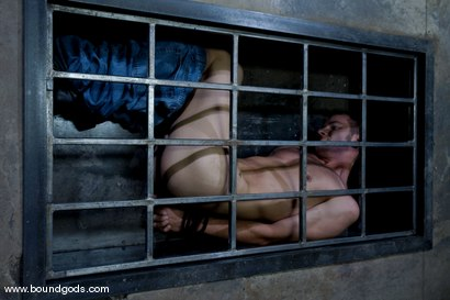 Photo number 2 from Hungry Like the Wolf shot for Bound Gods on Kink.com. Featuring Nomad and Wolf Hudson in hardcore BDSM & Fetish porn.