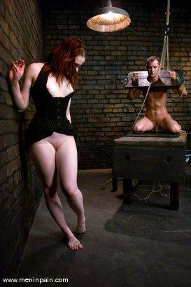 Photo number 11 from The Good Mistress shot for Men In Pain on Kink.com. Featuring Claire Adams and Nomad in hardcore BDSM & Fetish porn.