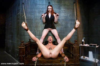 Photo number 5 from The Good Mistress shot for Men In Pain on Kink.com. Featuring Claire Adams and Nomad in hardcore BDSM & Fetish porn.