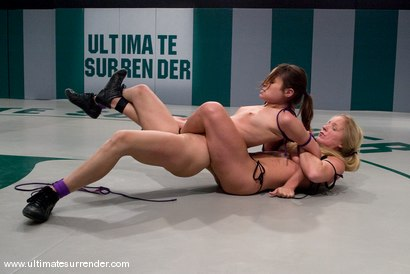 Photo number 5 from SUMMER VENGEANCE CONTINUES! <BR>This is the third elimination match <br>of the second round. shot for Ultimate Surrender on Kink.com. Featuring Dia Zerva and Amber Rayne in hardcore BDSM & Fetish porn.