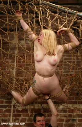 Photo number 10 from Adrianna Nicole shot for Hogtied on Kink.com. Featuring Adrianna Nicole in hardcore BDSM & Fetish porn.