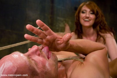 Photo number 14 from Entertainment for a Mistress shot for Men In Pain on Kink.com. Featuring Kendra James and Chad Rock in hardcore BDSM & Fetish porn.