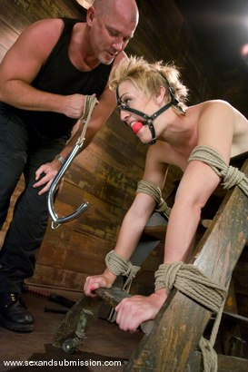 Photo number 4 from Dylan shot for Sex And Submission on Kink.com. Featuring Mark Davis and Dylan Ryan in hardcore BDSM & Fetish porn.