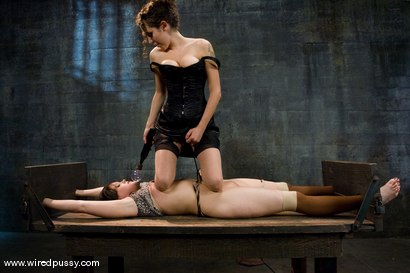 Photo number 3 from Raina Verene and Princess Donna Dolore shot for Wired Pussy on Kink.com. Featuring Raina Verene and Princess Donna Dolore in hardcore BDSM & Fetish porn.