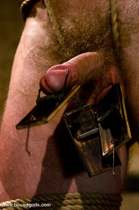 Photo number 3 from Ring The Bell shot for Bound Gods on Kink.com. Featuring Tober Brandt and Park Wiley in hardcore BDSM & Fetish porn.