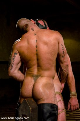 Photo number 13 from Ring The Bell shot for Bound Gods on Kink.com. Featuring Tober Brandt and Park Wiley in hardcore BDSM & Fetish porn.