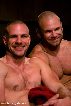 Photo number 15 from Ring The Bell shot for Bound Gods on Kink.com. Featuring Tober Brandt and Park Wiley in hardcore BDSM & Fetish porn.