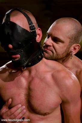 Photo number 10 from Ring The Bell shot for Bound Gods on Kink.com. Featuring Tober Brandt and Park Wiley in hardcore BDSM & Fetish porn.