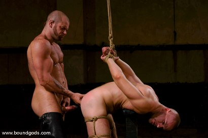 Photo number 11 from Ring The Bell shot for Bound Gods on Kink.com. Featuring Tober Brandt and Park Wiley in hardcore BDSM & Fetish porn.