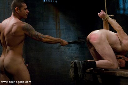Photo number 8 from Master Nick Moretti and slave dante shot for Bound Gods on Kink.com. Featuring Nick Moretti and Dante in hardcore BDSM & Fetish porn.