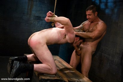 Photo number 9 from Master Nick Moretti and slave dante shot for Bound Gods on Kink.com. Featuring Nick Moretti and Dante in hardcore BDSM & Fetish porn.